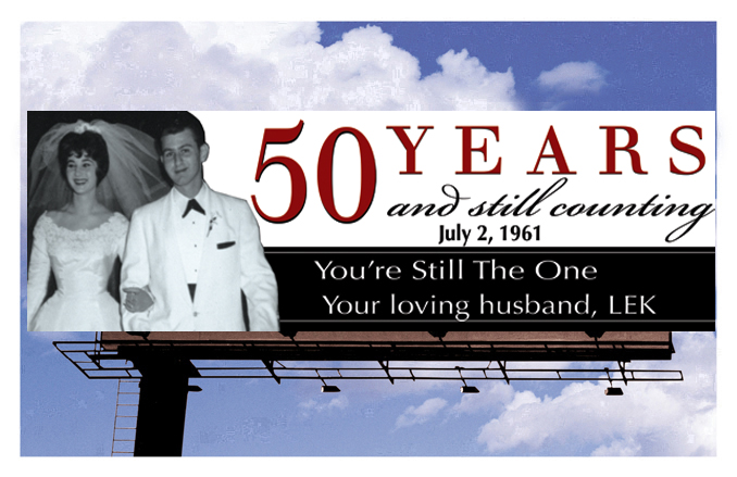 Anniversary Billboard
