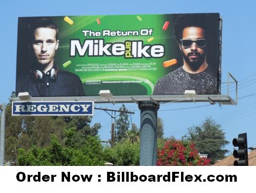The Return of Mike and Ike movie billboard