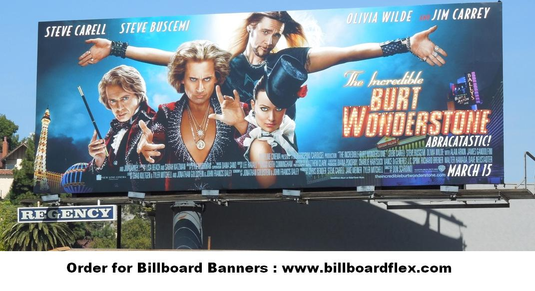 burt wonderstone movie billboard 2013